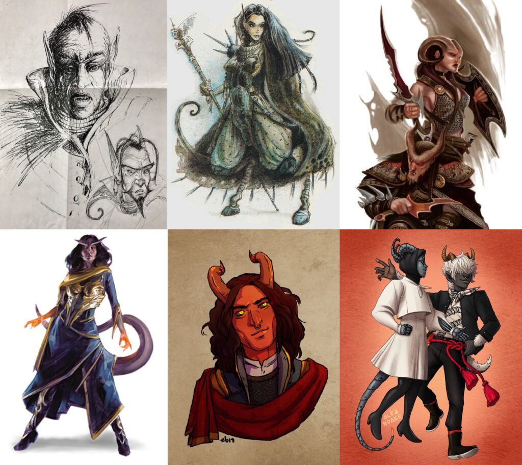 Article: The Evolution of Tieflings in D&D (Includes